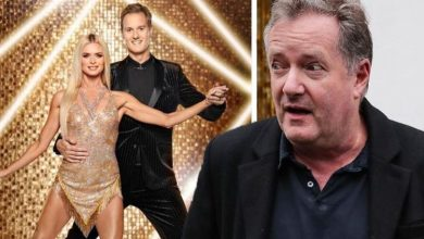 'Congrats' Piers Morgan takes swipe at TV rival Dan Walker as Strictly viewers switch off