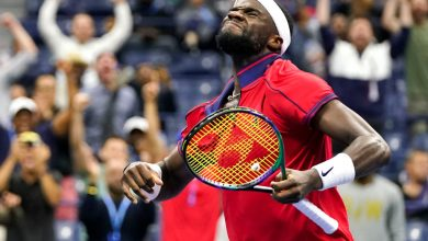 Frances Tiafoe puts on late-night show to reach fourth round of US Open