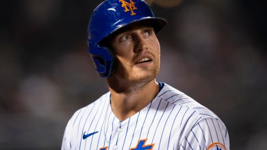 Brandon Nimmo exits Mets game early with hamstring tightness