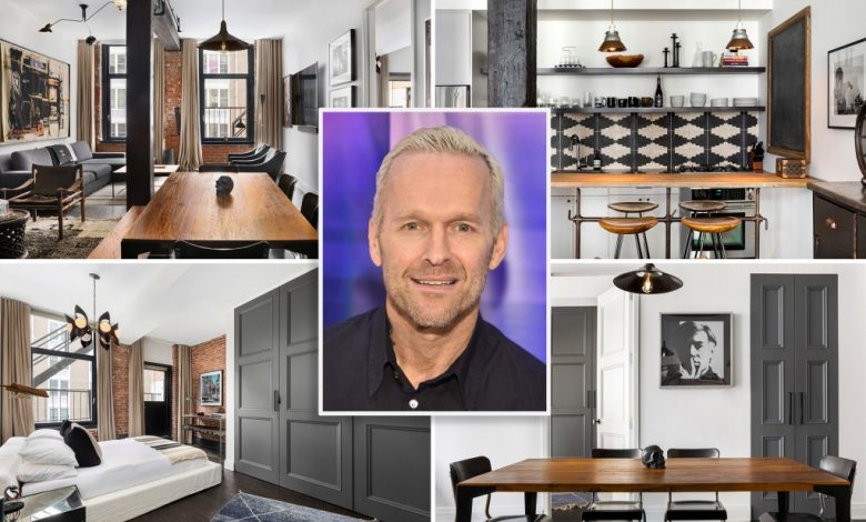 'Biggest Loser' host Bob Harper lists chic industrial NYC pad for $2.3M