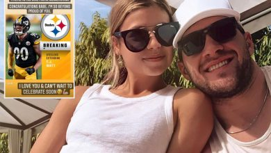 T.J. Watt's fiancee 'can't wait to celebrate' after huge Steelers payday