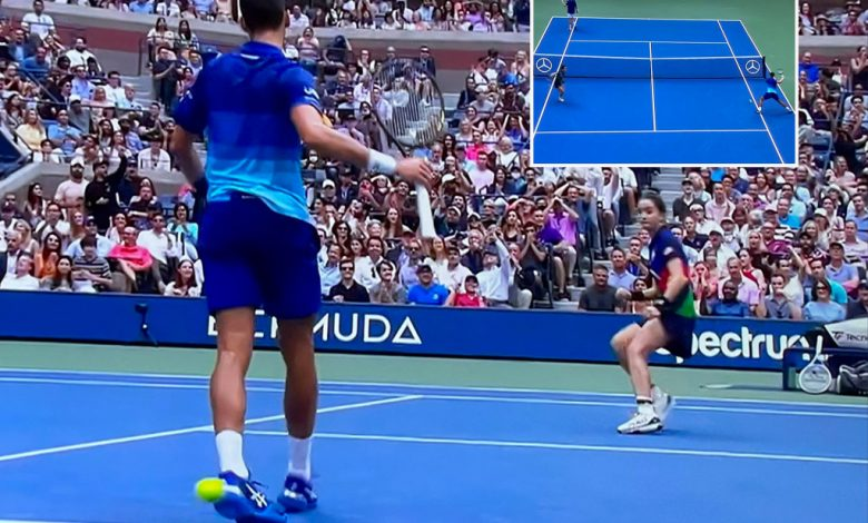 Novak Djokovic 'split second from catastrophe' in scary ball kid moment at US Open
