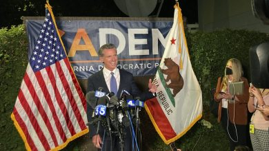 California Gov. Newsom Will Stay in Office, NBC News Projects