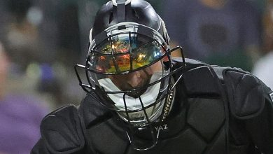 Ever wonder how that catcher's mask works? It's shocking