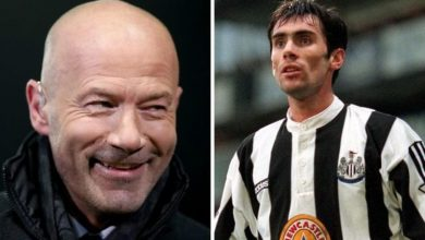 Alan Shearer worried he 'would get done for manslaughter' after scrap with Keith Gillespie