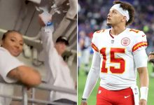 Patrick Mahomes: Brother's water-dumping video doesn't show whole story