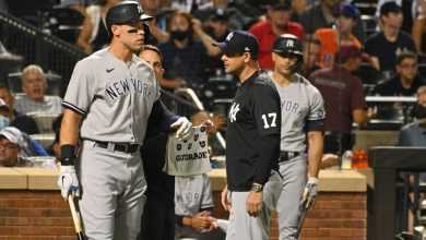 Aaron Judge exits Yankees-Mets game with 'concerning' dizziness