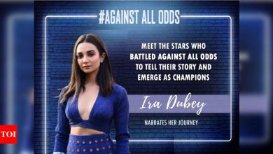 #AgainstAllOdds! Ira Dubey: In this industry, people have a habit to dictate your choices - Times of India