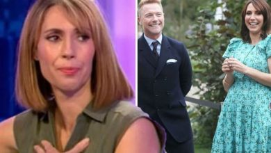 Alex Jones fears she won't 'make it' for The One Show return just weeks after giving birth