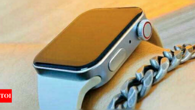 Apple Watch Series 7 expected to come in 41mm and 45mm screen size, may lose support for previous watch bands - Times of India