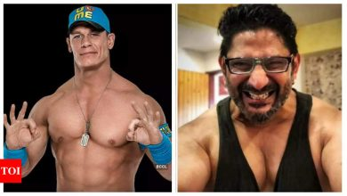 Arshad Warsi reacts to John Cena sharing his transformation photo on Instagram, says he is 'quite kicked' - Times of India