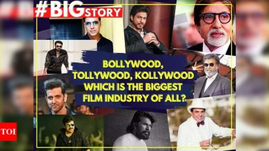 #BigStory: Bollywood, Tollywood, Kollywood - Which is the biggest film industry of all? - Times of India
