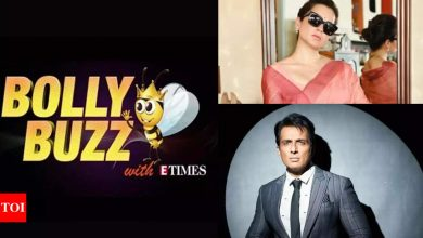 Bolly Buzz: Kangana Ranaut appears before Mumbai court; Sonu Sood reacts to tax evasion accusations - Times of India