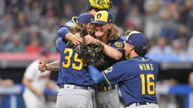 Brewers' combined no-hitter breaks MLB mark for most in season
