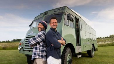 Camper trip is about 'jumping in, turning the keys and going off' says Jimmy Doherty