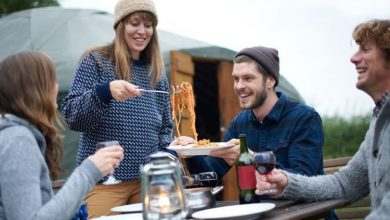Camping staycation: 'Genius' tips for mealtimes – 'thrifty'