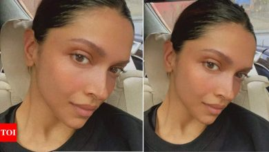 Deepika Padukone shows off her post-badminton glow in her latest carfie; PV Sindhu teases her about shedding calories - Times of India