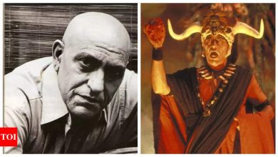 Did you know Amrish Puri once refused to audition for Steven Spielberg? - Times of India