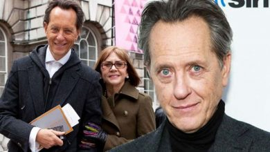 'Do not forget us' Richard E Grant's wife asked him to 'let her go' during final days