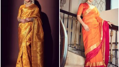 FIVE times Kangana Ranaut made us fall in love with her sarees from 'Thalaivii' promotions  | The Times of India