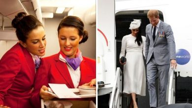 Flight attendant explains why Harry & Meghan couldn't order the same on flight 'At risk'