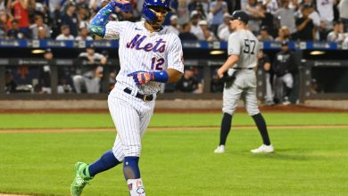 Francisco Lindor's three homers power Mets to chippy win over Yankees