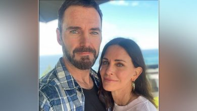 Courteney Cox Has Joined Sweetheart Johnny McDaid For A Trip To London For His Band Snow Patrol