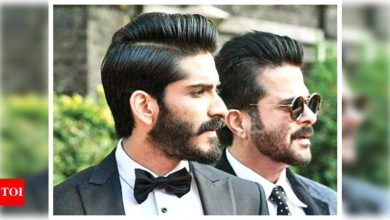 Harsh Varrdhan Kapoor says people love Anil Kapoor so much that they expect his son to be a certain way - Times of India
