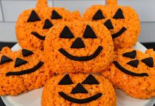 I'm Sending These Halloween Rice Crispie Treats To Everyone I Know