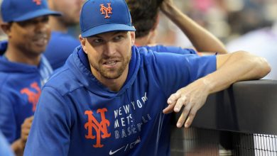 Jacob deGrom tries to quell fears about his 'perfectly fine' elbow