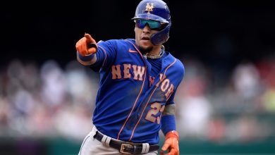Javier Baez's perfect day at plate helps Mets roll past Nationals again