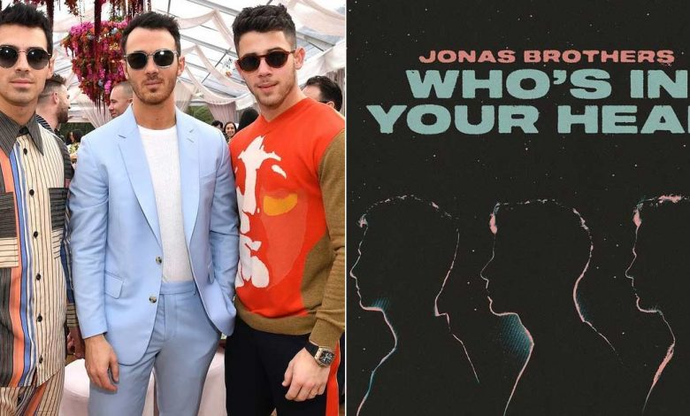 Jonas Brothers Debut New Single Whos In Your Head in