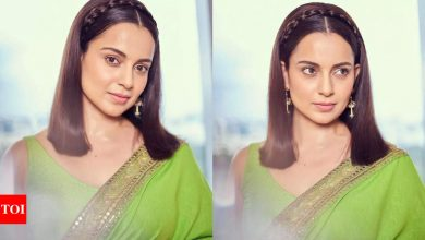 Kangana Ranaut says 'Thalaivii' is the best film of her career: I am  confident it will bring audiences back to theatres - Times of India