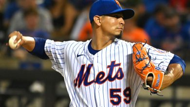 Mets' Carlos Carrasco rebounds after rough first inning