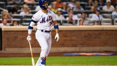 Michael Conforto could be playing final games in Mets uniform