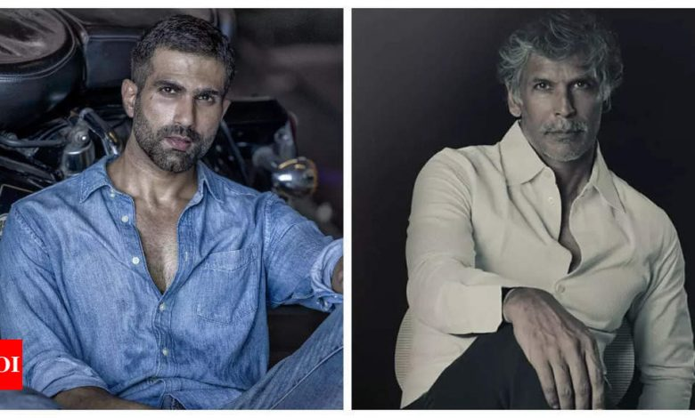 Rajveer Ankur Singh: When I cross 50, I want to be as fit as Milind Soman - Times of India