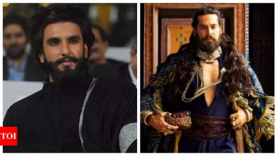 Ranveer Singh hails Dino Morea's performance in 'The Empire', the latter replies, 'Thanks my Khilji' - Times of India