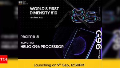 Realme 8i, Realme 8s smartphones to launch in India on September 9: Expected specs and other details - Times of India