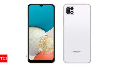 Samsung Galaxy Wide 5 launched, may come to India as Galaxy F42 5G - Times of India