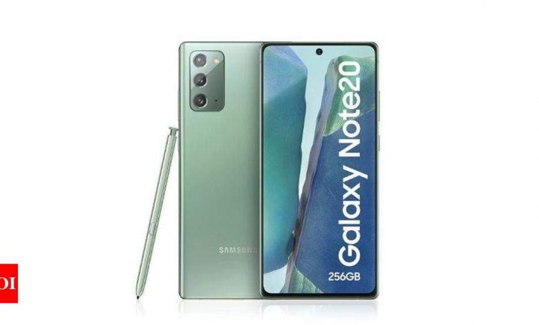 Samsung may not launch Galaxy Note 22 series, here's why - Times of India