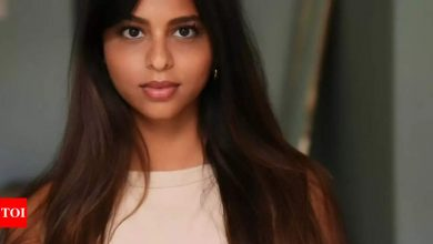 Suhana Khan's latest photoshoot speaks volumes about her charm and elegance - Times of India