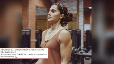 Taapsee Pannu Replies To Tweet That Compared Her Physique To