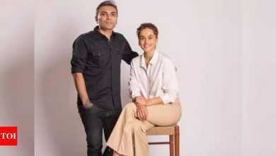 """Taapsee Pannu wraps up her maiden production 'Blurr': """"She's a brilliant actress and I am very satisfied with the movie,"""" says the co-producer - Exclusive! - Times of India"""