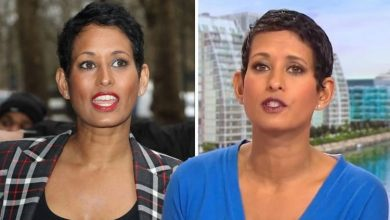 'That's the whole point!' Naga Munchetty hits back as fan comments on 'sweaty' appearance