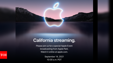 The wait is over: Apple announces date of 2021's biggest event - Times of India