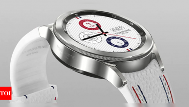 This new edition of Samsung smartwatch costs more than Rs 5 lakhs - Times of India