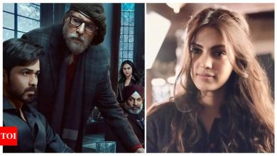 Watch: Amitabh Bachchan shares his privileged moment from 'Chehre' and it also features Rhea Chakraborty - Times of India