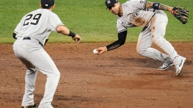 Yankees' Gleyber Torres makes another error after move to second base