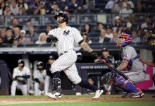 Yankees hold on after fast start for critical win over Rangers