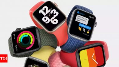 apple:  Apple is changing the charging cable that you get with Apple Watch SE - Times of India